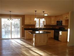 new maple kitchen