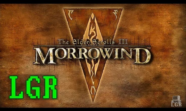 LGR: Morrowind for PC Review #games #Skyrim #elderscrolls #BE3 #gaming #videogames #Concours #NGC