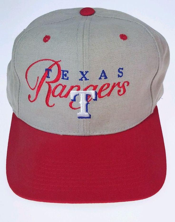 Texas Rangers Official Embroidered Cap Hat Strap-back Adjustable OC Outdoor Tan #OutdoorCapCompany #TexasRangers