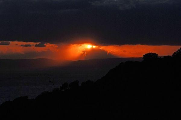 Sunset at Stoupa, Messinia