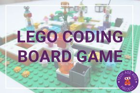 We made a LEGO Coding Board Game board games coding invention lego news projects