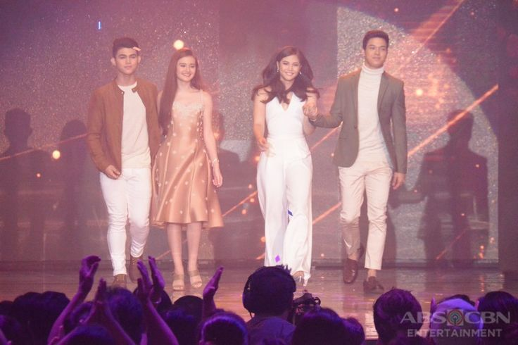 Here is Janella Salvador, Elmo Magalona, and a few Star Magic Talents walking on the ASAP stage during the Parade of Star Magic Talents during ASAP and Star Magic's 24th Anniversary last July 31, 2016 at the ABS-CBN Studio 10. #JanellaSalvador #ElmoMagalona #ElNella #ASAP #StarMagic #starmagic24thanniversary #StarMagic24