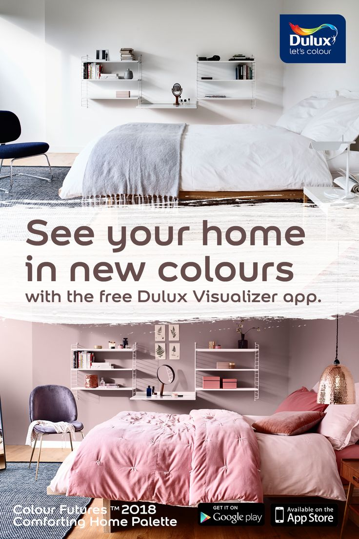 Visualise the perfect colour for your home with our free app.