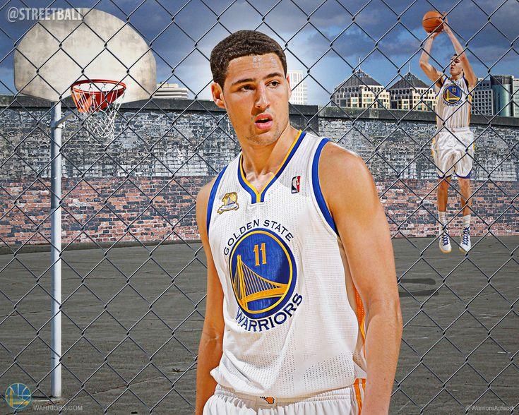 Klay Thompson   Klay Thompson Warriors NBA Wallpaper - Streetball