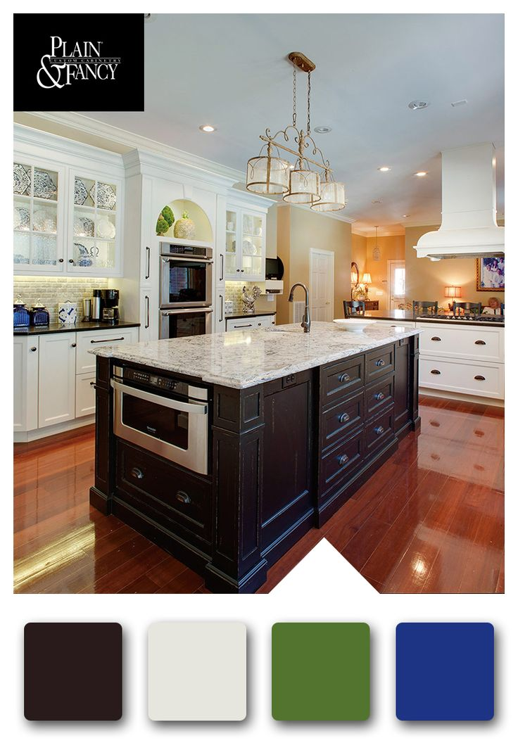 Is Mixing Kitchen Cabinet Finishes Okay Or Not: Old World Kitchen With Neutral Color Palette & Cool