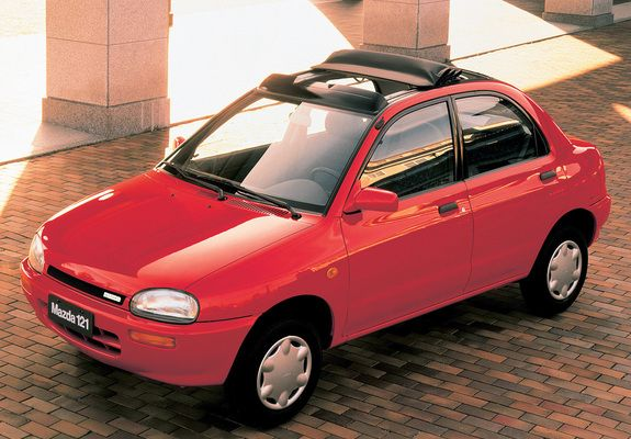 Wallpapers of Mazda 121 (DB) 1991–96