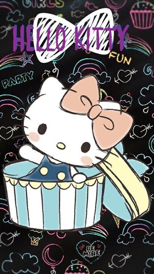 Peek-a-boo! Hello Kitty (((o(*゚▽゚*)o)))