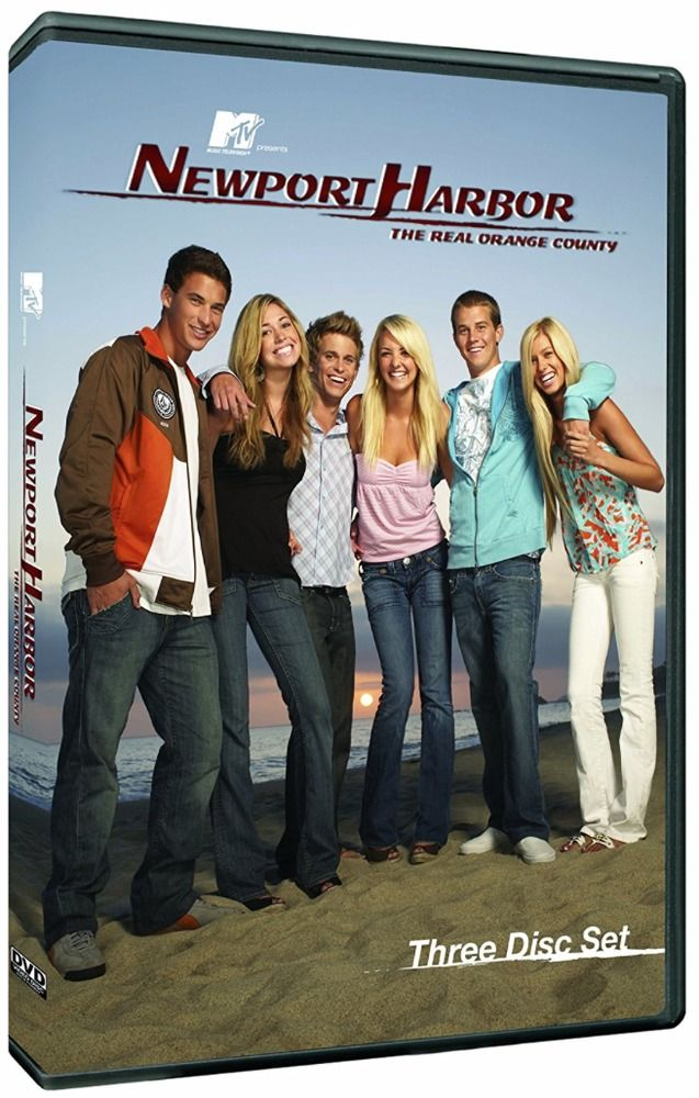 Every story has a beginning. Return to the sun, wealth and drama but say goodbye to #Laguna. We move up the coast to #NewportHarbor where friendships will also be tested, betrayed and hearts will break but love still rules all. In this disc set you will get the entire #NewportHarbor #series. #Complete #ClayAdler #MTV #DVD #Reality #TV