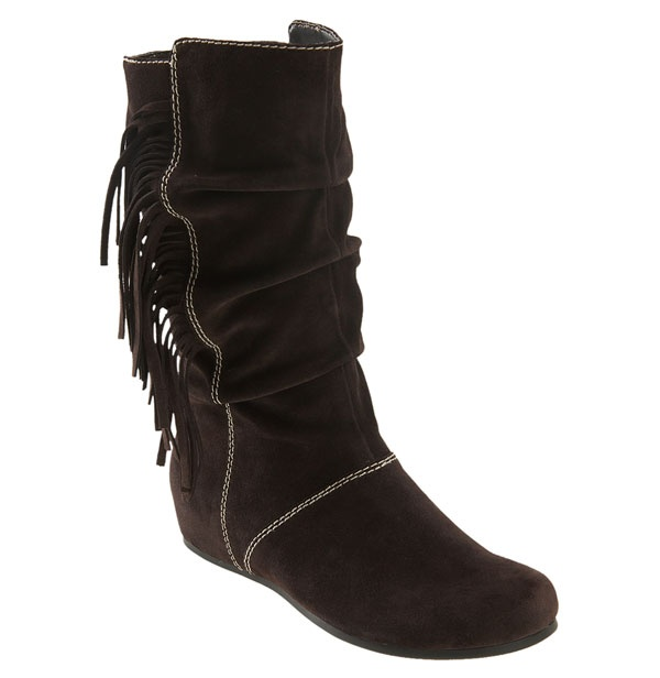 boot native american indian cozy tassels