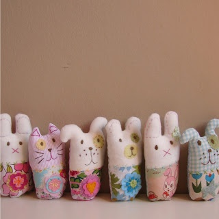 Roxy Creations: Cute softie rattles