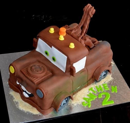 Tow Mater Birthday Cake Designs