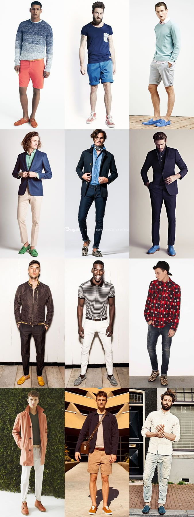 6 Statement Menswear Pieces for Spring/Summer 2015: 3. Men's Coloured and Printed Footwear Lookbook Inspiration