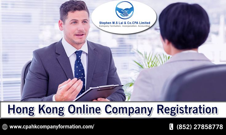 Online Company Register Offers in Hong Kong Online Company Registration.
