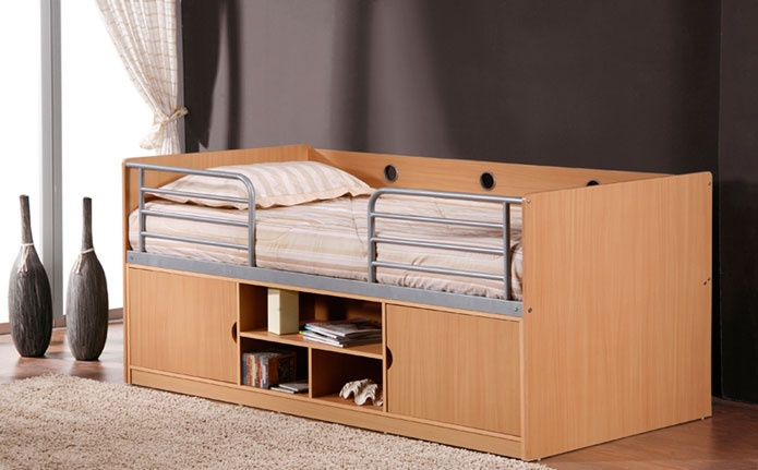 Small Box Room Cabin Bed For Grandma: 78 Best Images About Space Saving Bedroom Ideas On