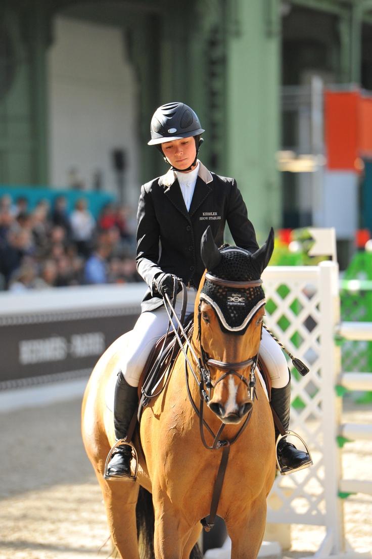 Reed Kessler and Cylana at Grand Prix Saut Hermes