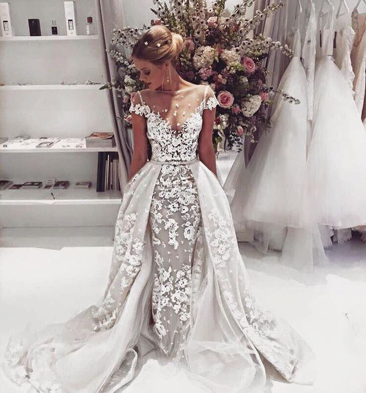 A showstopper! The detailing in this gown is just incredible f280a755a3cd