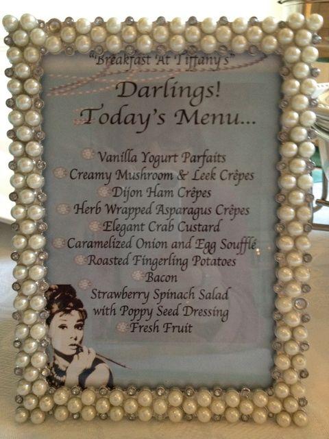 Breakfast at Tiffanys / Birthday Debbies 50th Birthday Brunch | Catch My Party
