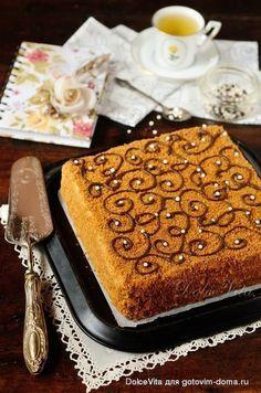 """Чешский медовый торт """"Марленка"""" (классический)"""