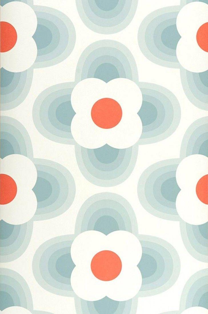 Selene | I love the 70s | Motifs du papier peint | Papier peint des années 70