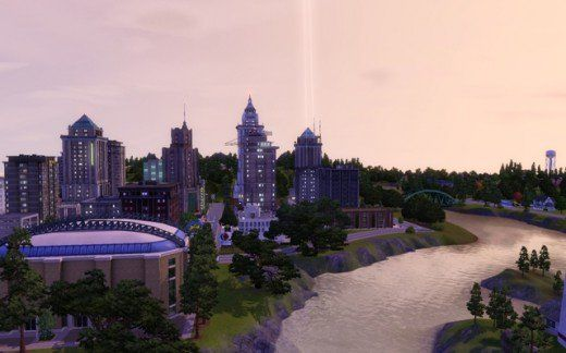 User created Sims 3 worlds to download. Sunset Valley, Twinbrook, Bridgeport and Appaloosa Plains. Redcliffs is a coastal village created by Awesims.