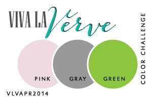 Viva la Verve Sketches: Viva la Verve April 2014 Week 1 Color Challenge Designed by Julee Tilman #vervestamps #vivalaverve #colorchallenge