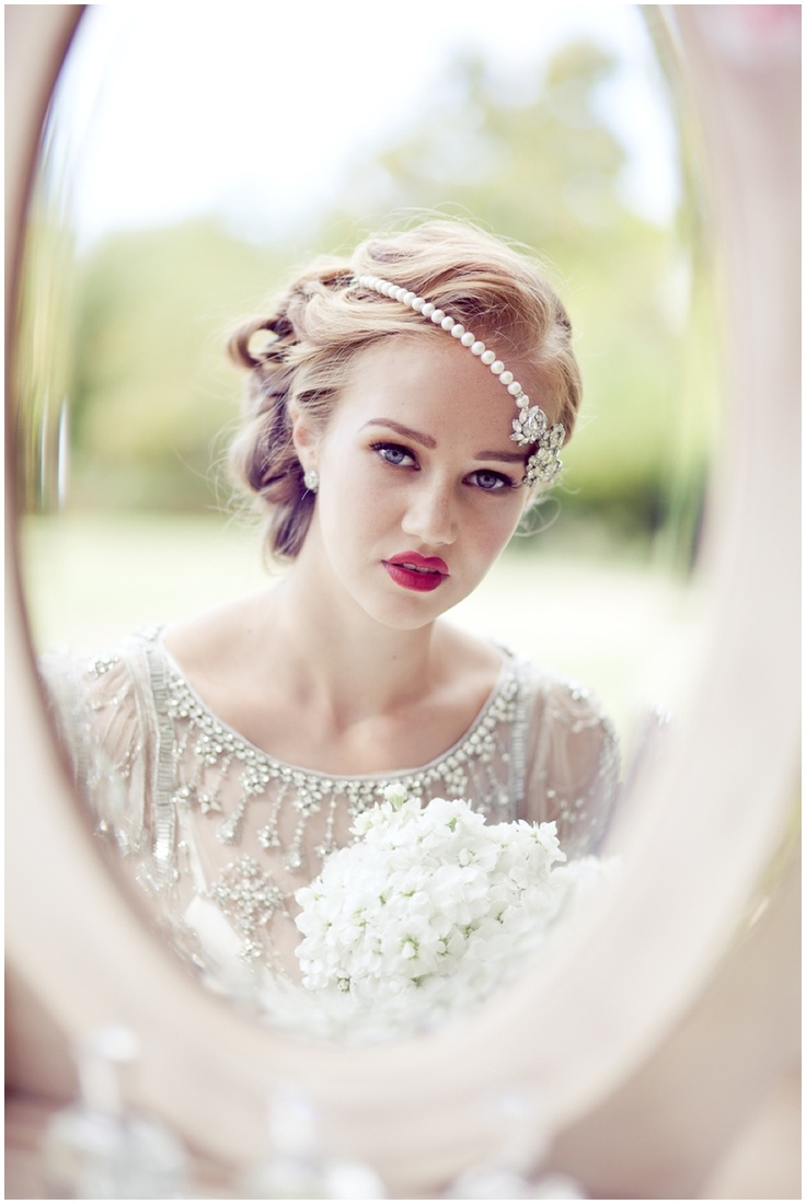 Wedding hair and makeup | Jenny Packham | Elbie van Eeden make up | Tigerlily Wedding styling | Miss Bush Bridal | Eddie Judd Photography