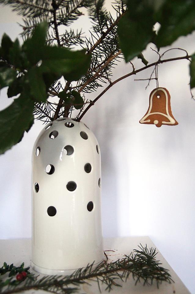 Fly's Eye Vase - Christmas tree