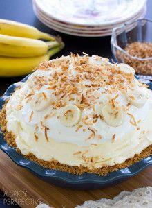 Cloud Nine Banana Cream Pie   14 to die for cream pie recipes.