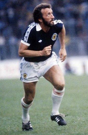 Danny McGrain Scotland 1980