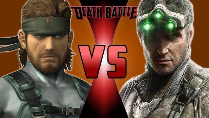 Solid Snake VS Sam Fisher | DEATH BATTLE!