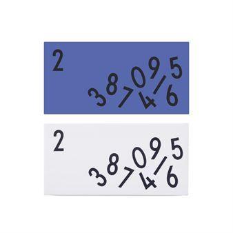 Design Letters Bürozubehör - Radiergummi 2er Pack - Design Letters