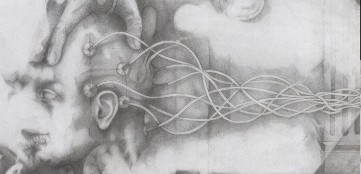 Alessandro De Michele, L'apparenza, matita su cartoncino, 80x80 cm ale_demichele@yahoo.it