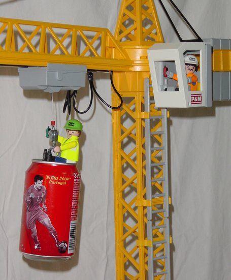 Image result for playmobil crane