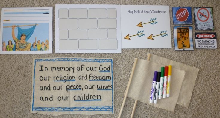 AM-A-ZING well-organized site of FHE ideas, tons on here! it's all free & printable. grouped in scripture order -or by topic too!
