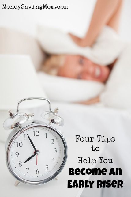 How to become an early riser... even if you think you're a night owl! Try it!