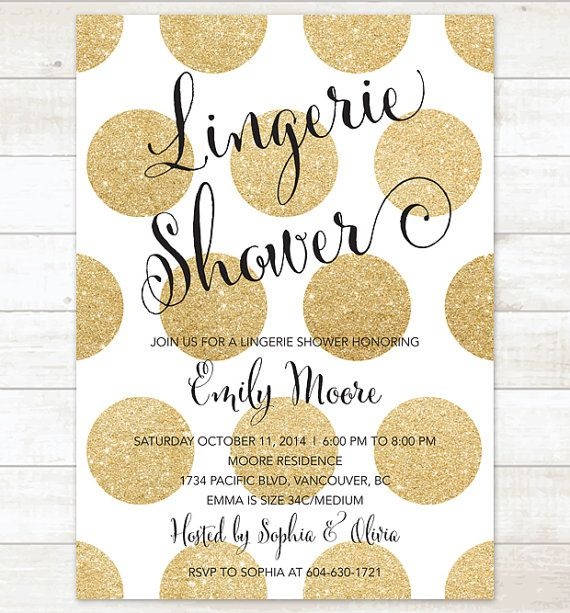 The 25 best Lingerie Shower Invitations ideas – Lingerie Party Invite