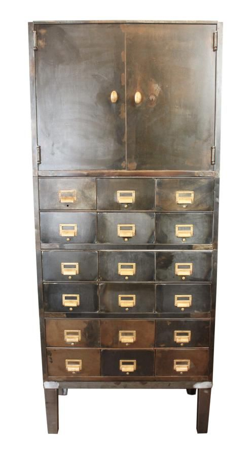 Industrial Metal File Cabinet: Architectural Salvage Online Store, Buy  Altered Antiques | OGTstore.
