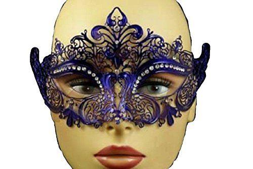 Elegant Womens Filigree Metal Venetian Masquerade Mask - ... https://www.amazon.com/dp/B00XM167R4/ref=cm_sw_r_pi_dp_x_2X6kybQSCEPB3
