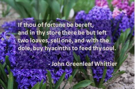 If Thou Of Fortune Be Bereft by John Greenleaf Whittier