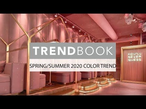 Candy Pink the Spring/Summer 2020 Color Trend - YouTube