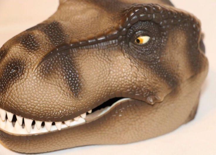 RARE T REX TERROR National Geographic Society Dinosaur Micro Machine Extinction