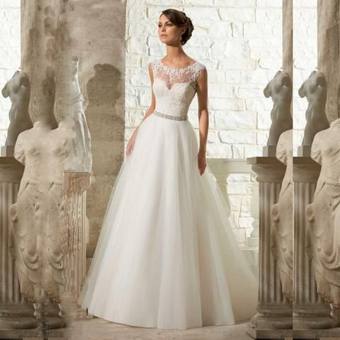 NOW DISCOUNTED $780 Shop24seven365 for this stunning A-line with beading full length wedding dress. Only $780! Visit www.shop24seven365.com.au