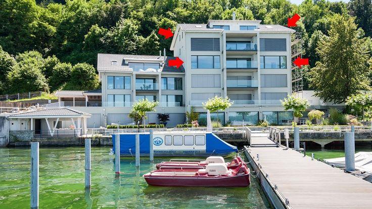 Neue See-Wohnungen mit eigenem Bootsplatz in Steckborn