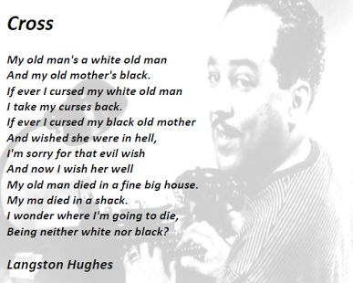 an analysis of the south a poem by langston hughes A poet, novelist, fiction writer, and playwright, langston hughes is known for his insightful, colorful portrayals of black life in america from the twenties through the sixties and was important in shaping the artistic contributions of the harlem renaissance.