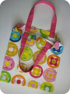 Easy Tote - Sewing Tutorail - Sew Natural