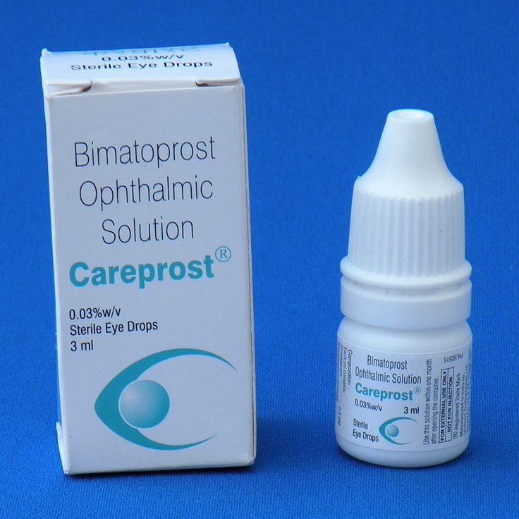 Карепрост (Careprost) стимулятор для роста ресниц