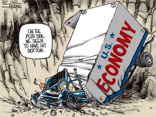 Image result for us economy cartoon