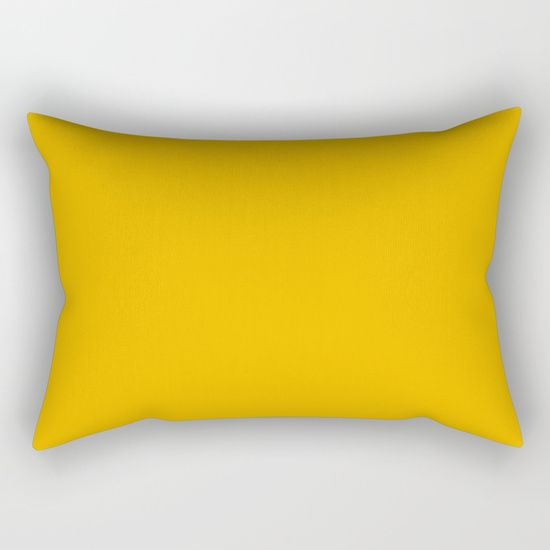 American Yellow Rectangular Pillow