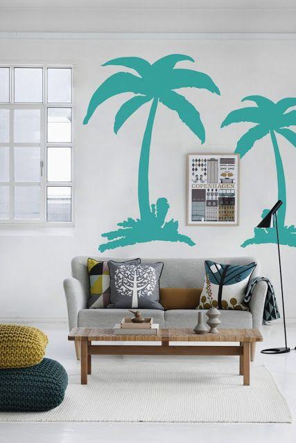 Achados de Decoração - blog de decoração descomplicada e bem viver: HOUSE OF BLUE: decoração em turquesa e tons de azul alegram o dia!
