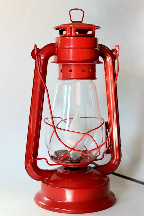 Electric Lantern Light (Red)